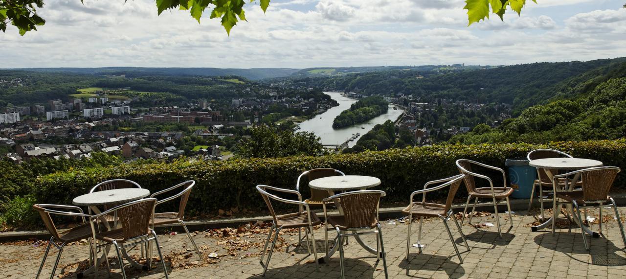 Namur, vue depuis la citadelle (c) JP Remy / WBT