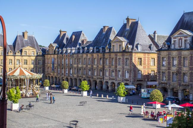 Photo de la place Ducale par Johan Barrot