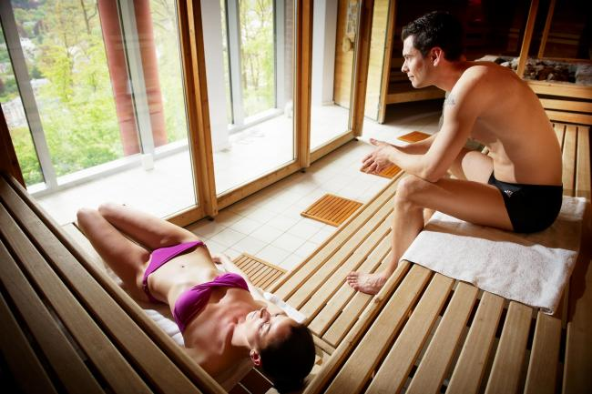 sauna thermes de spa