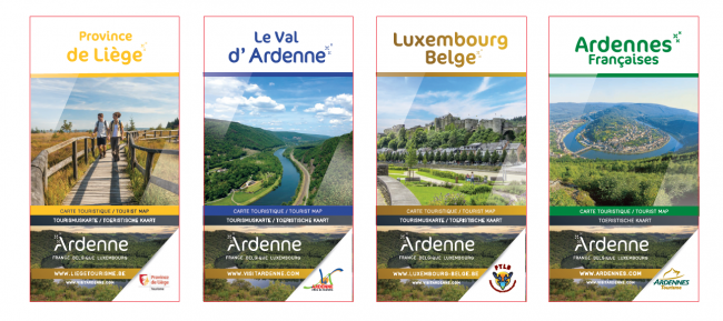 collection cartes Ardenne