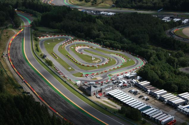 Karting - Spa-Francorchamps - Luchtfoto